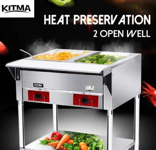 KITMA Commercial Electric Food Warmer